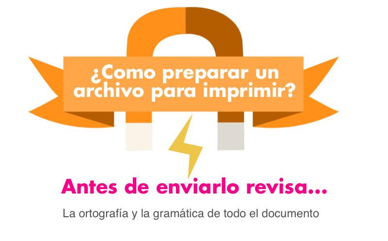 Infografía: Como preparar un archivo para imprimir