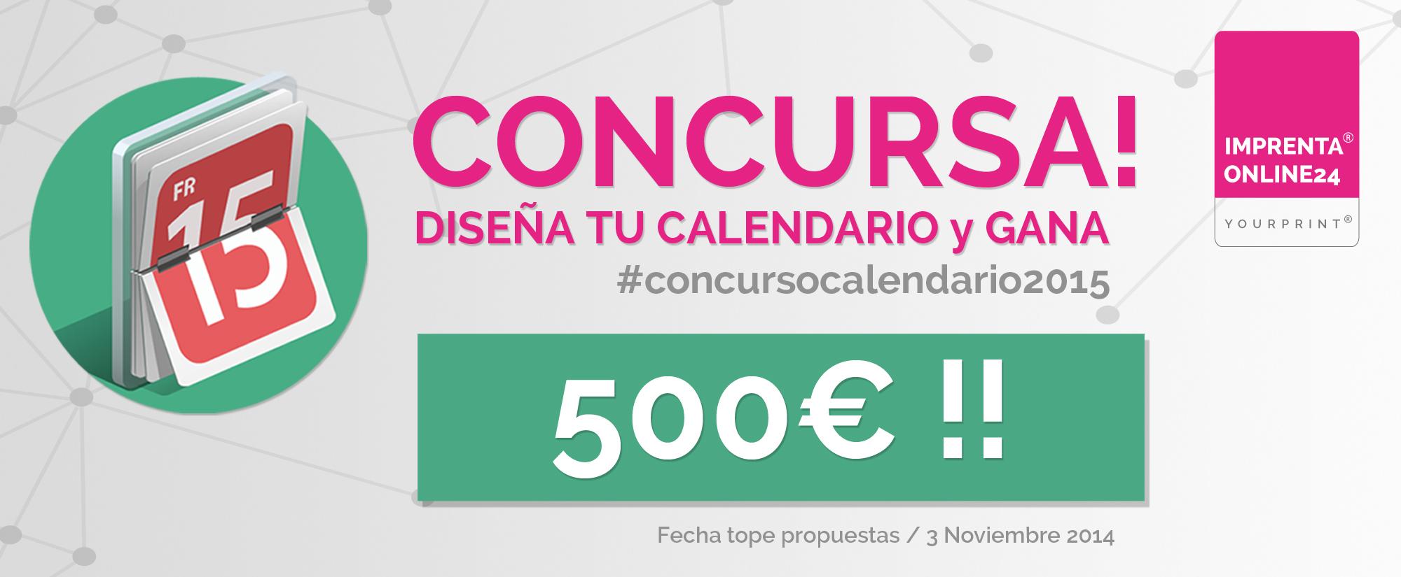 Lanzamos el Primer Concurso de diseño de Calendarios 2015, ¿Te Apuntas?
