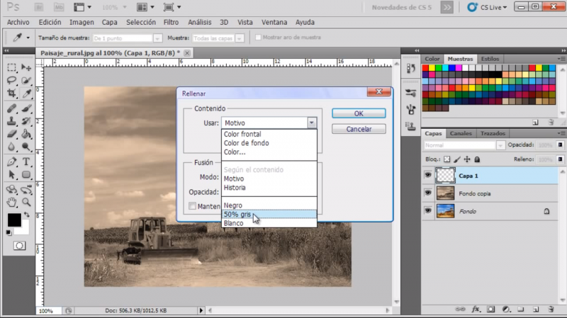 Tutorial: Efecto de foto antigua con Photoshop