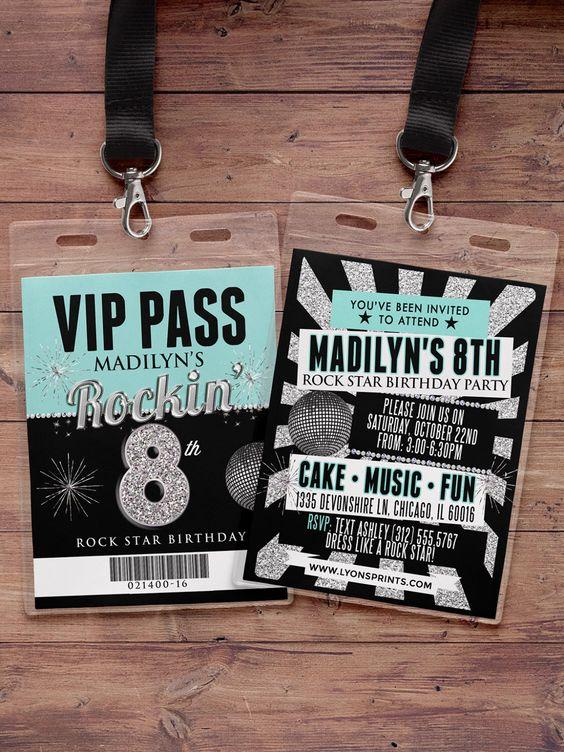 Diseñar entradas para eventos
