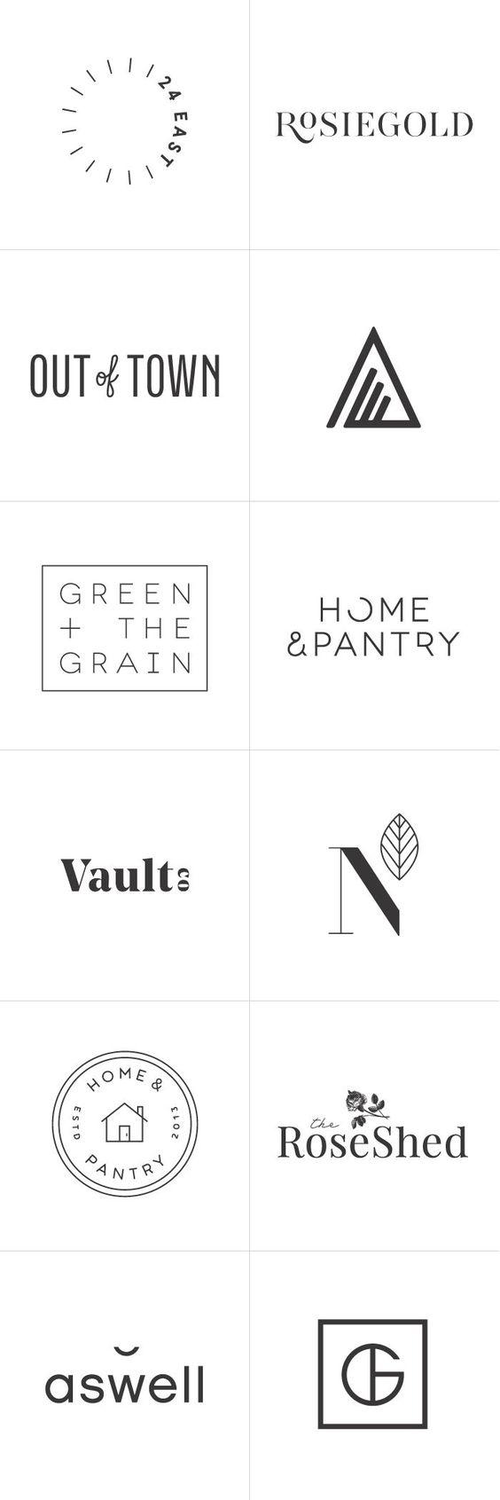 Las cinco reglas para diseñar un logotipo