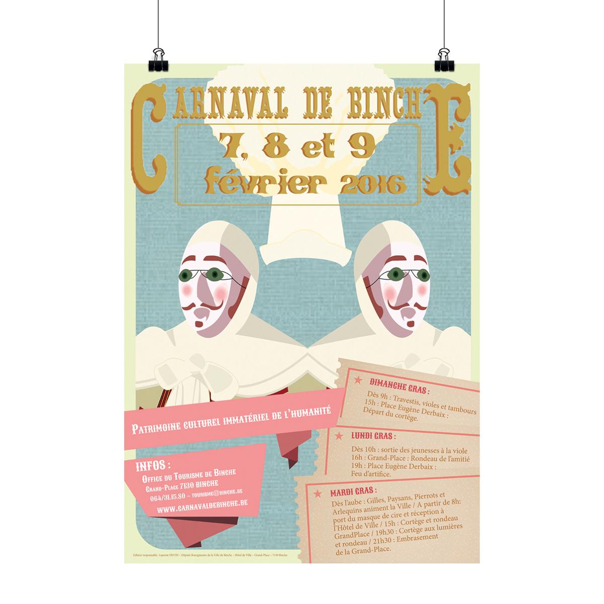 Consejos para diseñar un cartel de Carnaval