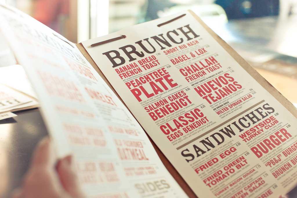 Cómo diseñar un carta de restaurante