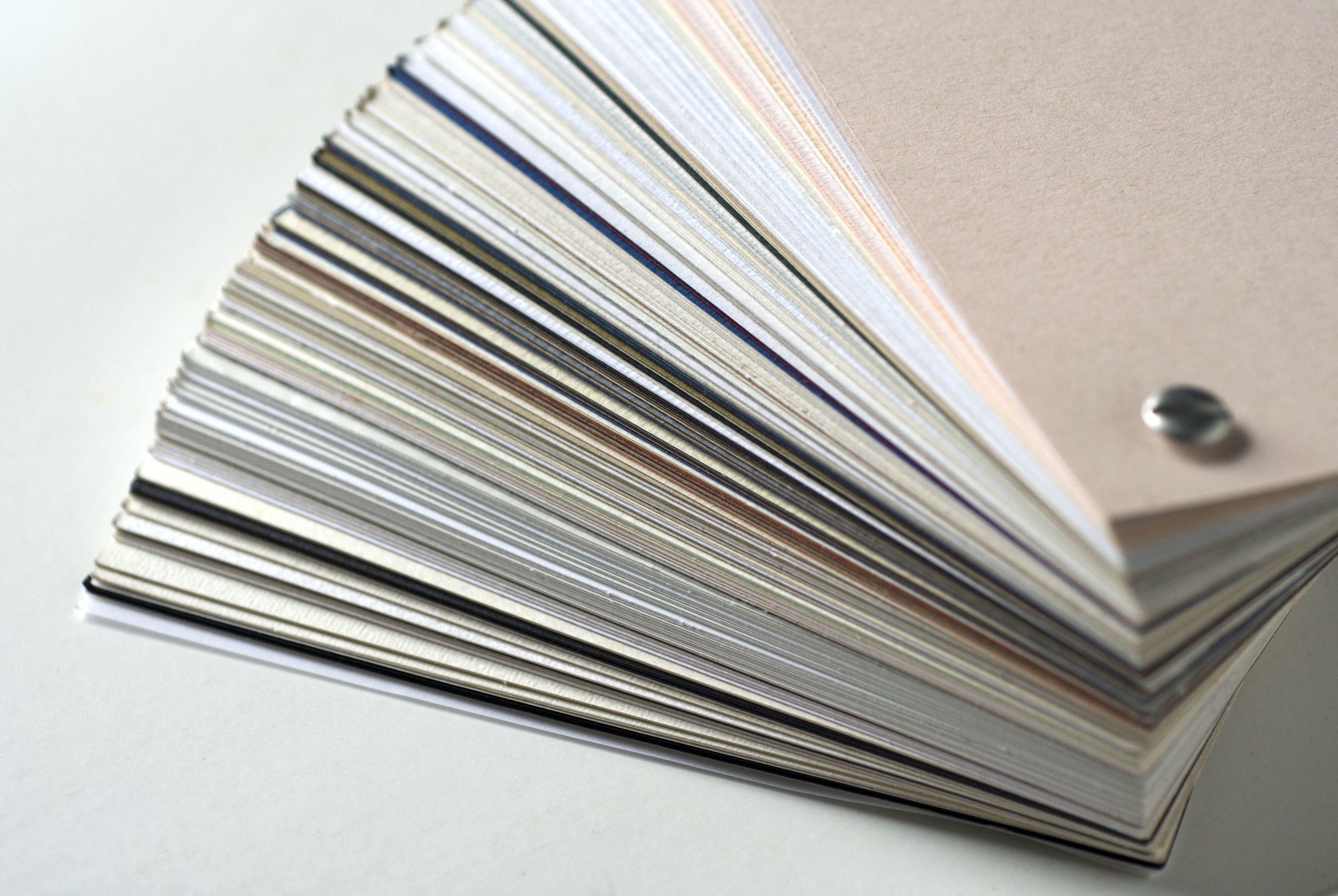 La fibra del papel en los productos impresos
