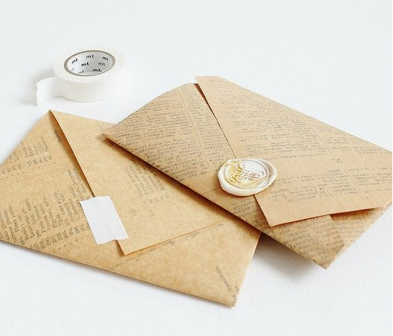 Particularidades y tipología de los sobres