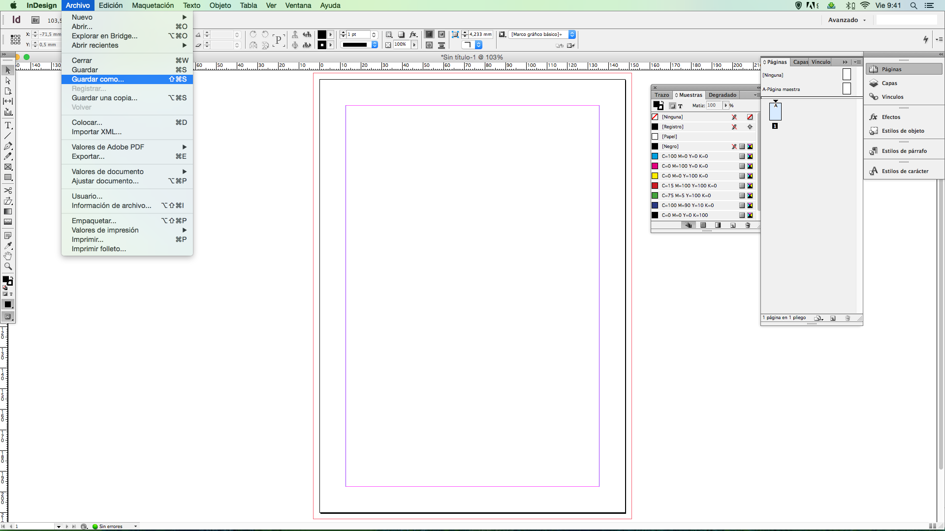 Tutorial: cómo crear paso a paso una plantilla con Indesign ...