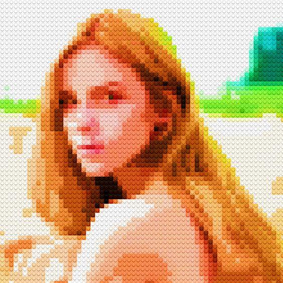 efecto mosaico