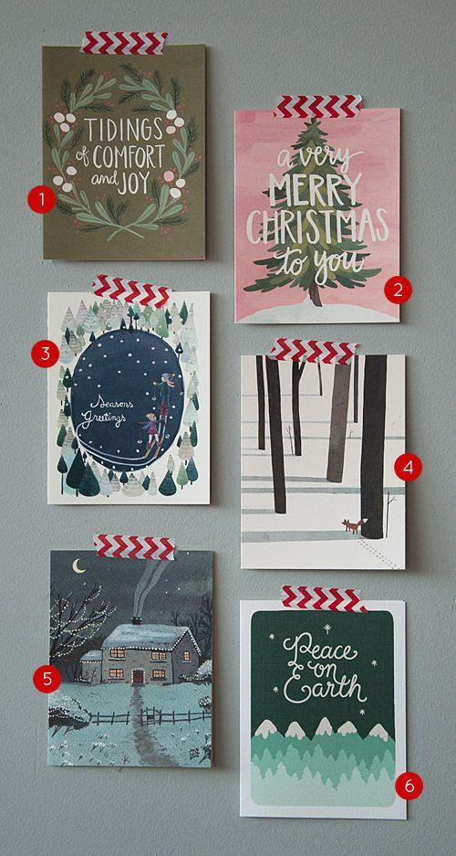 Tendencias en diseño de postales de Navidad para este año 2015