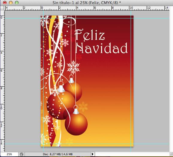 tuto felicitacion navidad 4