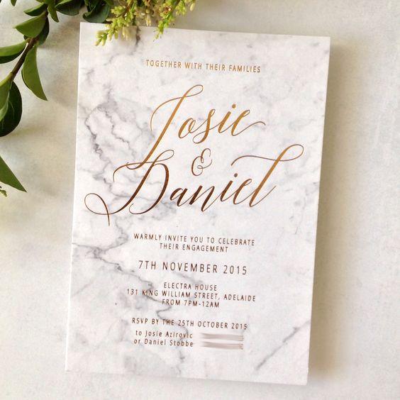 Tendencias 2016 en invitaciones de boda