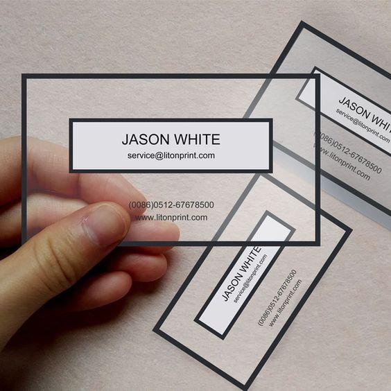 Cómo personalizar al máximo una tarjeta de visita