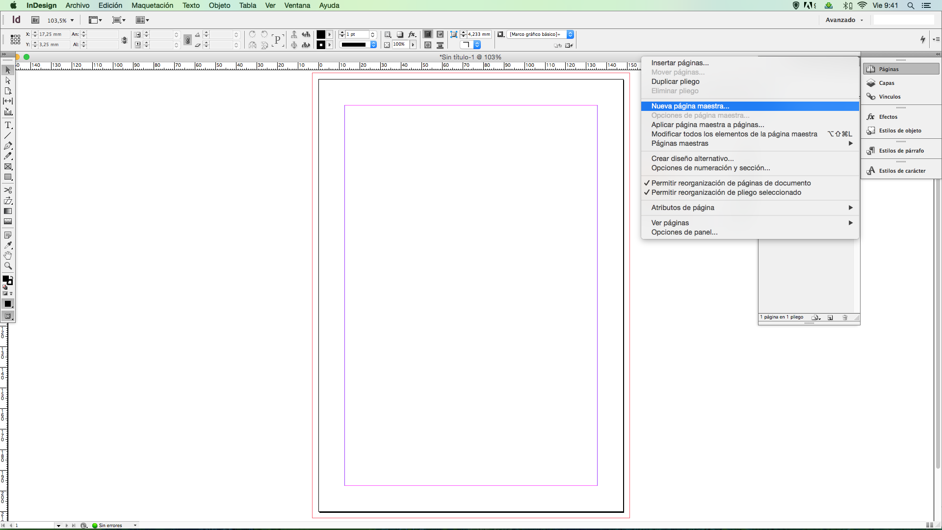 p plantilla indesign 5