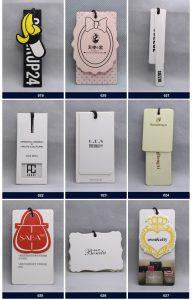 OEM custom logo brand garment clothing printed paper price hang font b tag b font font 192x300