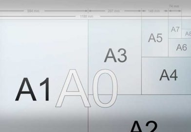 El tamaño de papel:  la medida DIN A