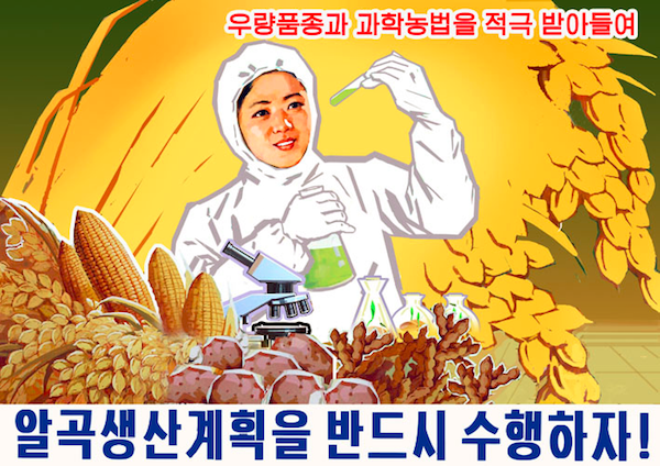 north korean propaganda posters are chillingly dramatic 1